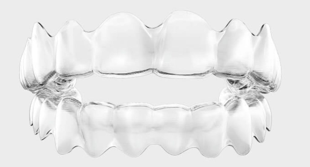 photo of Invisalign aligners